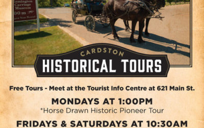 CARDSTON HISTORIC TOURS – 2017